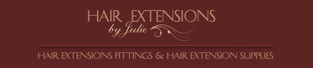 hair extensions by julie logo